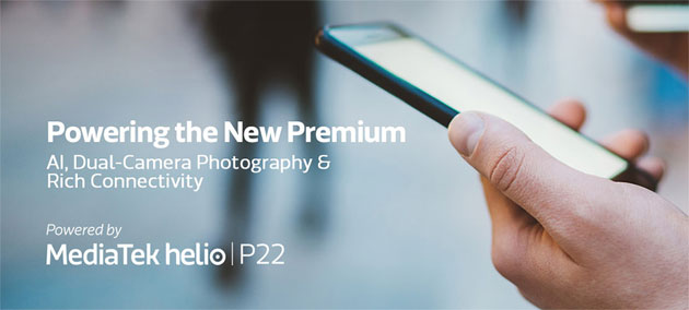 Foto MediaTek Helio P22, primo chipset di fascia media costruito a 12nm