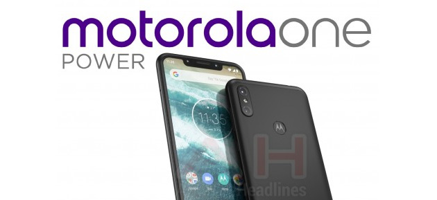 Foto Motorola One Power con Android One e ampia batteria atteso in agosto