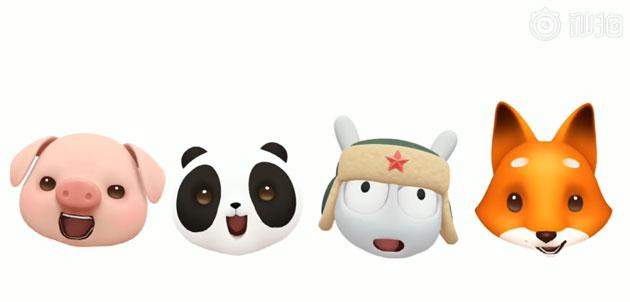 Xiaomi nel Mi8 potrebbe lanciare le sua Animoji