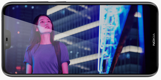 Foto Nokia 6.1 Plus (X6) ufficiale con Dual Camera e Notch