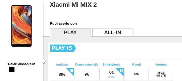 Smartphone Xiaomi con 3 Italia e Wind, si parte con Mi Mix2 e Redmi 5 Plus
