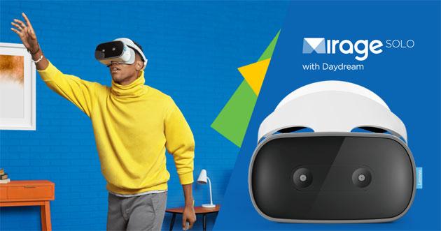 Lenovo Mirage Solo, primo visore autonomo Daydream VR