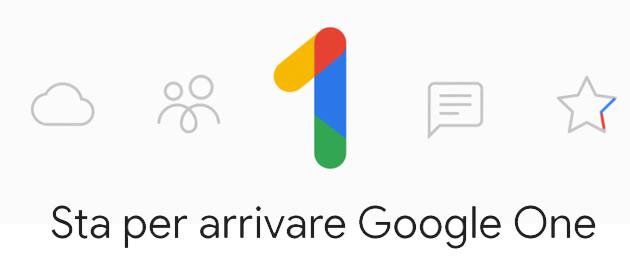 Google One il nuovo servizio di archiviazione Coud di Google