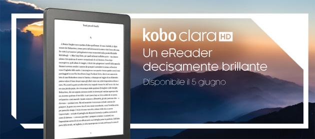 Kobo Clara HD, eReader piccolo e leggero da 129 euro
