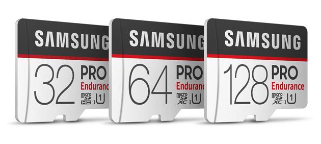 Samsung PRO Endurance, schede microSD durature per lettura e registrazione continua