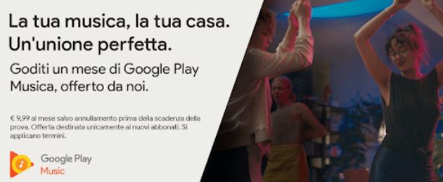 Chromecast regala un mese di Play Musica