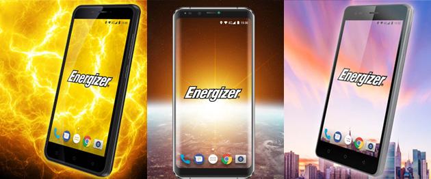 Energizer lancia nuovi telefoni serie Power Max, Hardcase ed Energy