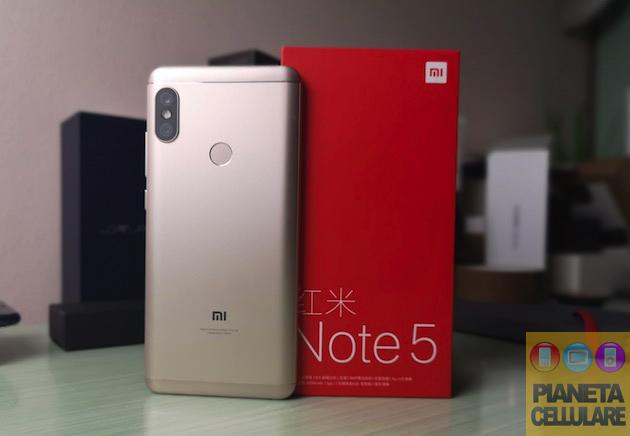 Recensione Xiaomi Redmi Note 5, potenziale Best Buy