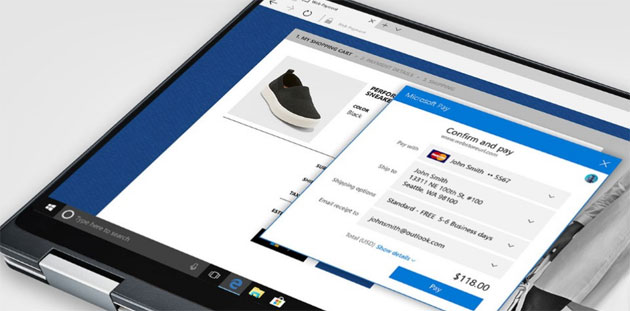 Foto Microsoft Pay arriva su Outlook