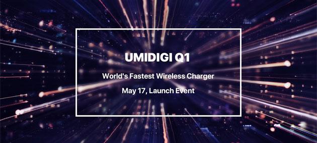 UmiDigi Q1, arriva il caricabatterie wireless piu' veloce al mondo