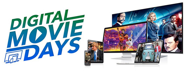 Digital Movie Days 2018, film in digitale a prezzo scontato