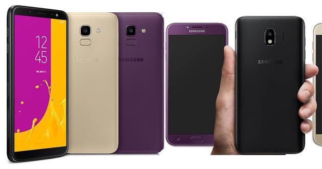 Samsung Galaxy J4, J6 e J8 2018 ufficiali