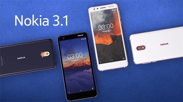 Nokia 3.1, edizione 2018 di Nokia 3: specifiche, video, foto e prezzi in Italia