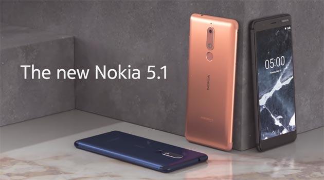 Nokia 5.1 ufficiale, edizione 2018 di Nokia 5: specifiche, video, foto e prezzi