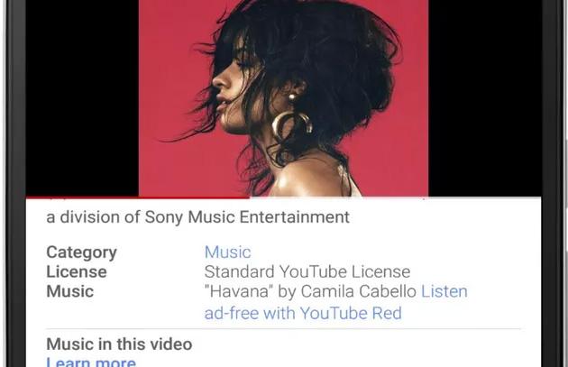 YouTube riconosce i credit ad artisti, autori, etichette e editori