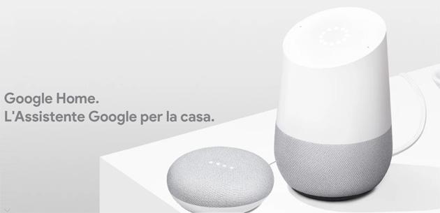 Google Store Italia sconta Google Home e Home Mini