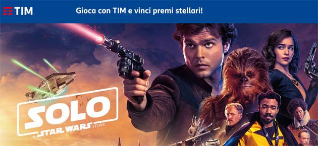 TIM e SOLO - A Star Wars Story, il Concorso a Premi