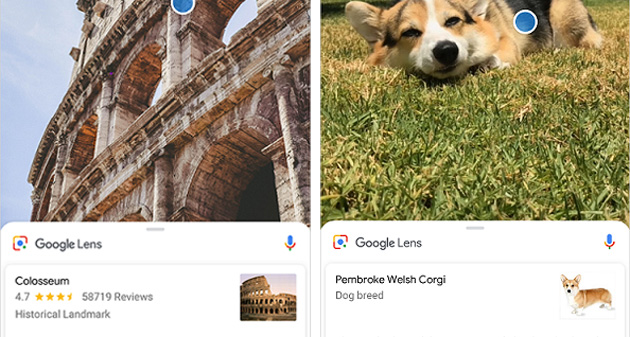 Google Lens su Sony Xperia XZ2 e XZ2 Compact