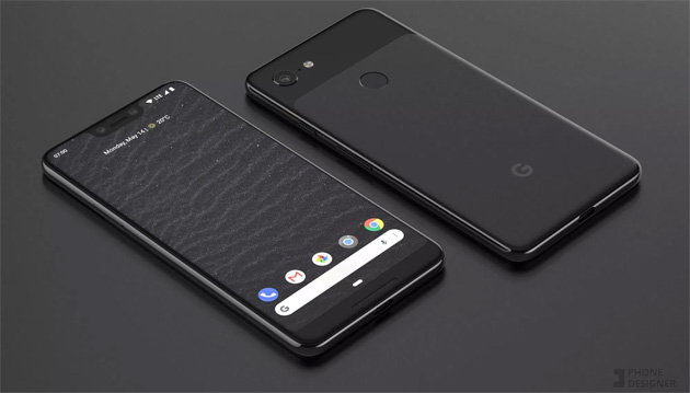 Google Pixel 3 e Pixel 3 XL in nuovi render con tanto di cover