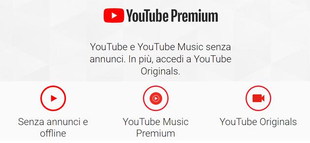YouTube Premium in Italia: quanto costa e come funziona. Toglie la pubblicita' dai video di Youtube