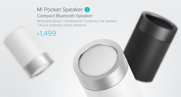 Xiaomi Mi Pocket 2, altoparlante bluetooth con controllo di musica e chiamate