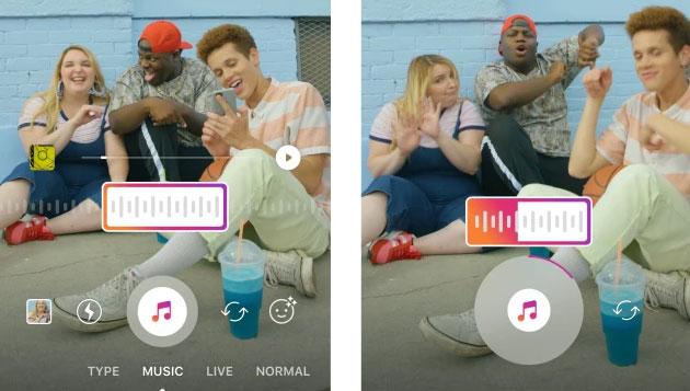 Instagram, la musica arriva nelle Storie