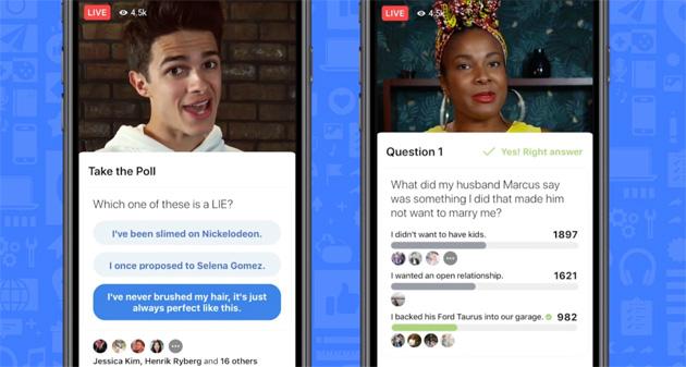 Facebook aiuta i creatori a creare e crescere lanciando anche una piattaforma di gameshow