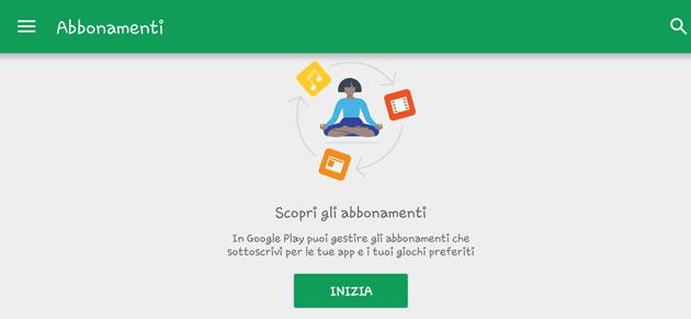 Google semplifica la gestione degli abbonamenti nel Play Store