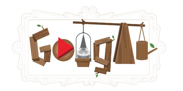 Google omaggia i nani da giardino con un doodle da giocare