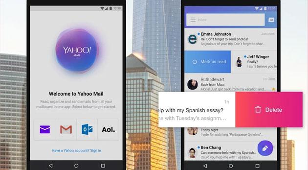Yahoo Mail Go, app leggera per gestire la posta elettronica sui device Android economici