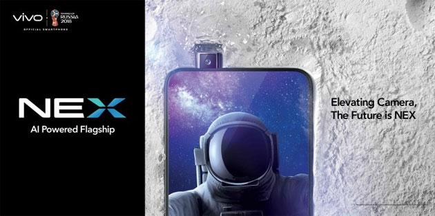 Vivo NEX S ha scanner impronte in-display e fotocamera a scomparsa. NEX A la versione economica