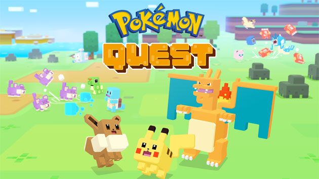 Foto Pokemon Quest su smartphone e tablet Android e iOS