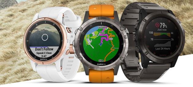 Garmin Fenix 5 Plus, serie di smartwatch GPS multisport