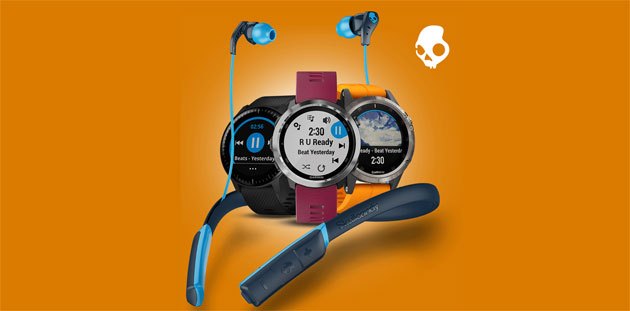 Garmin regala le cuffie Skullcandy Method Wireless acquistando uno smartwatch