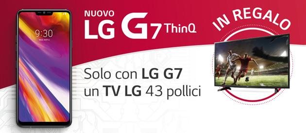 LG G7 regala un TV LG da 43 pollici