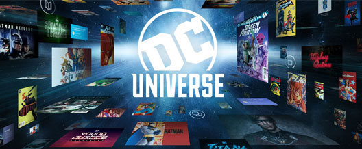 DC Universe arriva su smartphone e tablet iOS e Android, Apple TV e Android TV