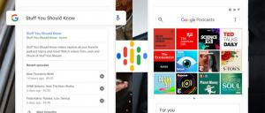 Google Podcasts su Android e Assistente