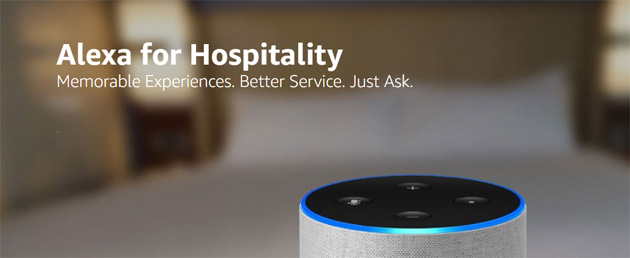 Foto Alexa for Hospitality, Amazon porta il suo assistente vocale in Hotel e Alberghi