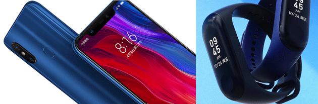 Xiaomi Mi 8 e Mi Band 3 disponibili in Italia con due anni di garanzia