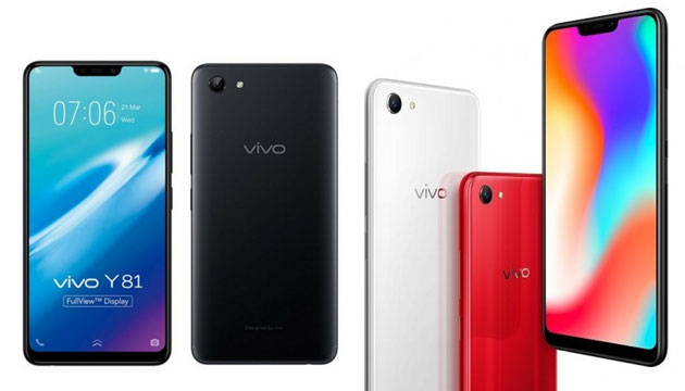 Vivo Y81 e Y83 con display 19:9, notch e Helio P22