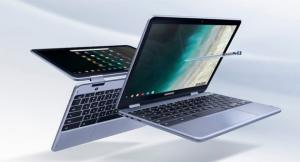 Samsung Chromebook Plus (V2) con CPU Intel, doppia fotocamera e Chrome OS con accesso a Google Play