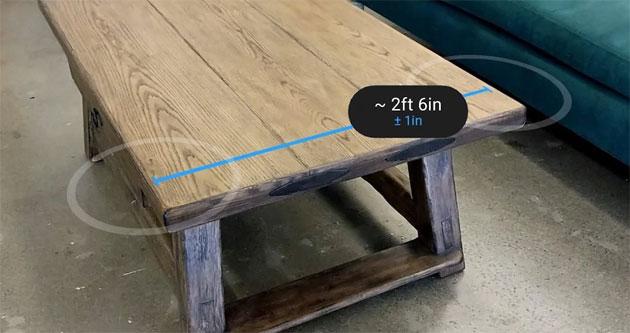 Google Measure, app per misurare oggetti reali usando la fotocamera
