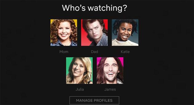 Netflix trasforma le icone profilo, ora con i personaggi di serie e film