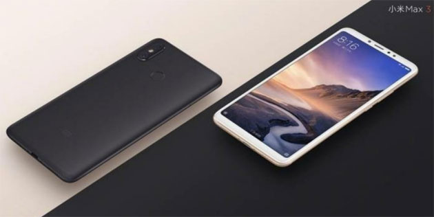 Foto Xiaomi Mi Max 3, prime specifiche ufficiali rivelate