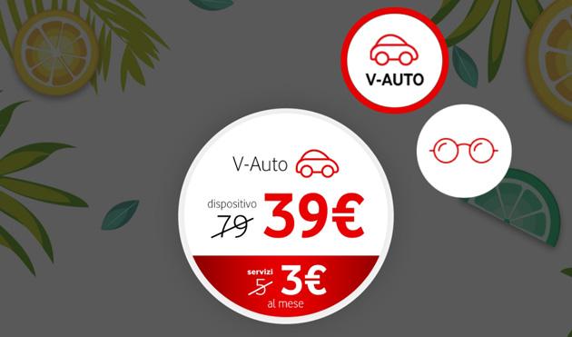 Vodafone Happy Friday il 20 luglio sconto per V-Auto o da Salmoiraghi e Vigano'