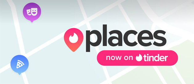 Tinder Places crea corrispondenze in base ai luoghi visitati
