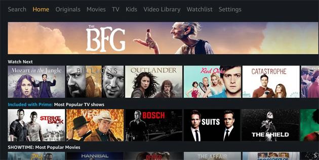 Amazon lavora a nuova app mobile Prime Video, niente nuovo smartphone