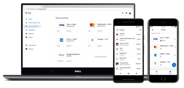 Google Pay fa inviare e chiedere denaro, salvare biglietti di concerti e carte di imbarco