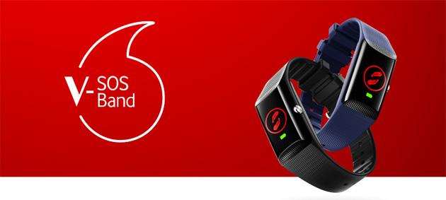 V-SOS Band by Vodafone, smartband per sapere dove si trova chi lo indossa