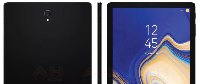 Foto Samsung Galaxy Tab S4, specifiche al completo rivelate